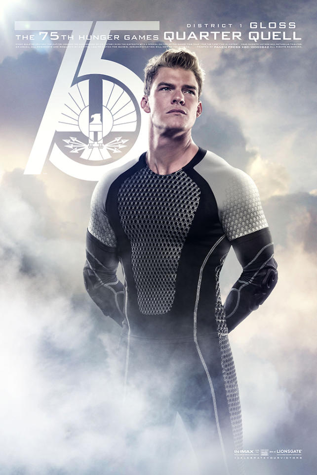 """Alan Ritchson as Gloss in Lionsgate's """"The Hunger Games: Catching Fire"""" - 2013"""