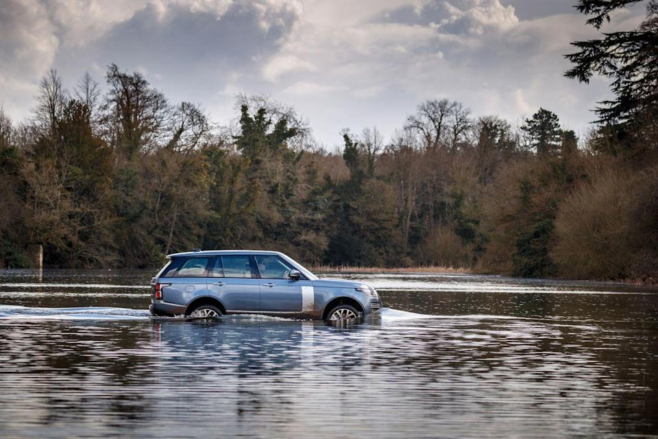 "<p>Here's the lowdown: When the Queen of England needs to get some place, she's usually riding in a <a href=""https://www.caranddriver.com/land-rover/range-rover"" rel=""nofollow noopener"" target=""_blank"" data-ylk=""slk:Range Rover"" class=""link rapid-noclick-resp"">Range Rover</a>. But luxury means nothing if it's not backed up with ability. Every Range Rover has an adaptive all-wheel-drive system and adjustable air suspension, which help it conquer harsh conditions. It also has a two-speed transfer case, electronically locking differentials, hill-descent control, and a low-traction launch-control setting. And it will look good doing it. The Range Rover is available in two wheelbases and a mind-boggling range of trim levels with stand-alone options. If you're royalty, this is what you drive—anywhere you damned well please.</p>"