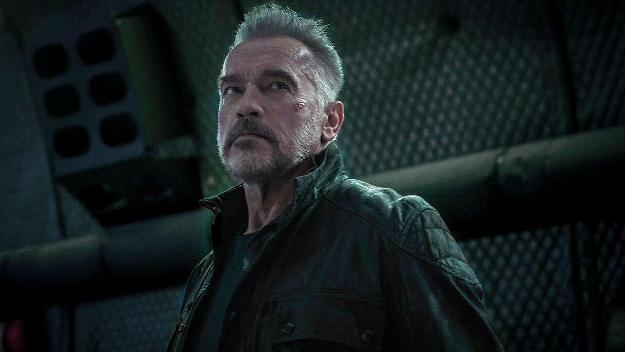 This new-look silver fox isn't the only version of the T-800 we'll get in the movie, de-aging tech (and a body-double) will bring back the T-800 from 1991's Terminator 2: Judgement Day.