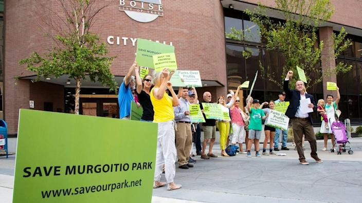 Promised a regional park in Southwest Boise 24 years ago by the City of Boise, a group calling themselves the Friends of Murgoitio Park say City Hall is in a rush to turn the land into condensed housing.