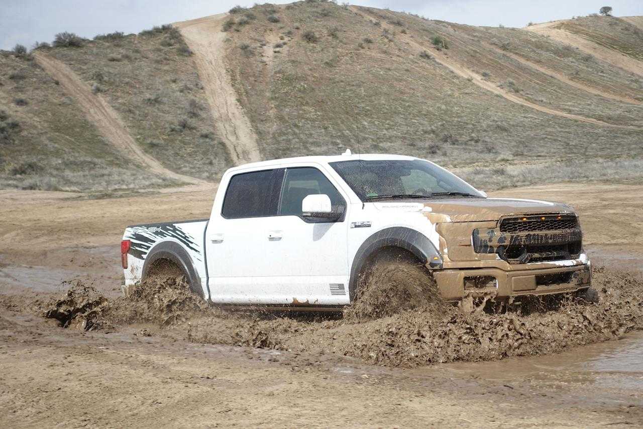 <p>A Mustang or an F-150 makes for a great blank canvas. Ford provides the raw material and aftermarket builders create machines far more radical than those that left the factory floor. </p><p>Roush has been modifying Ford cars and trucks since the late 1990s with serious engine, suspension, and styling upgrades, and today offers nine Mustang and Ford F-Series models. The latest in the line is the new F-150 SC, a supercharged beast that adds $25,000 (and a lot of muscle) to a typical F-150. We blasted one of these machines around an off-road park in Southern California to see what that money buys you.</p>