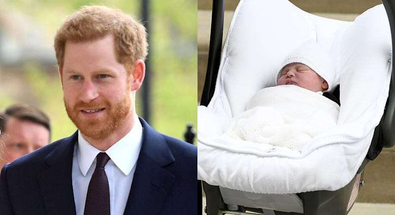 The Duke of Sussex's christening present to Prince Louis is extremely thoughtful. [Photo: Getty]