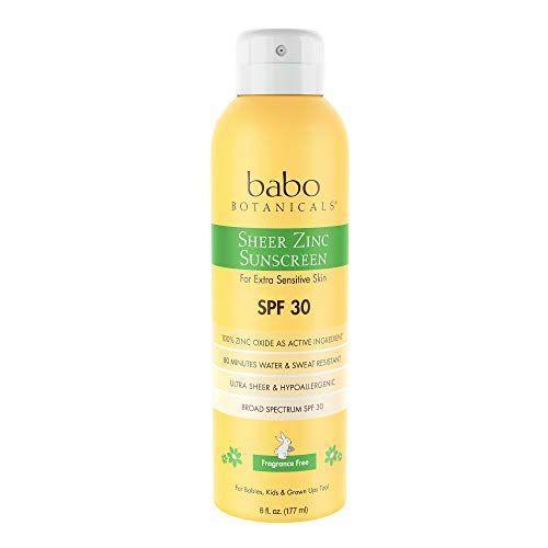 """<p><strong>Babo Botanicals</strong></p><p>amazon.com</p><p><strong>$18.98</strong></p><p><a href=""""https://www.amazon.com/dp/B01ALT5MKW?tag=syn-yahoo-20&ascsubtag=%5Bartid%7C10056.g.36801416%5Bsrc%7Cyahoo-us"""" rel=""""nofollow noopener"""" target=""""_blank"""" data-ylk=""""slk:Shop Now"""" class=""""link rapid-noclick-resp"""">Shop Now</a></p><p>Ok, so it's not exactly workout gear, but if you plan on doing any outdoor workouts (or being outside at all, really), this sheer, non-greasy SPF is a must-have.</p>"""