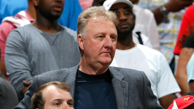 Larry Bird resigns as Pacers President