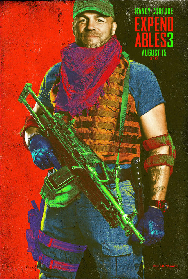 An Exclusive Look at the 'Expendables 3' Comic-Con Posters