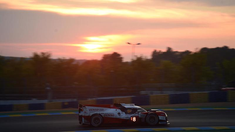 Toyota win Le Mans 24 Hours endurance race for third consecutive year