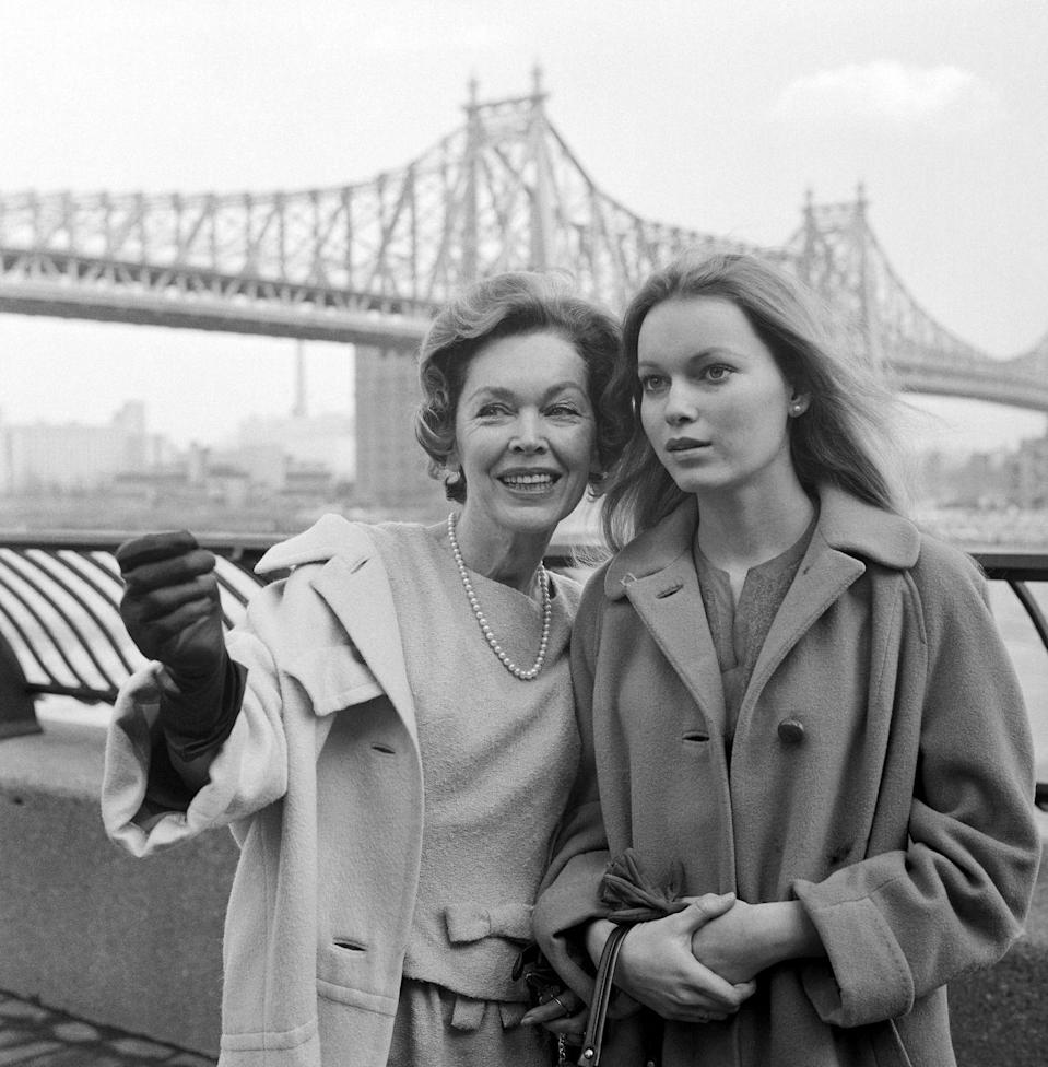 <p>Mia Farrow emerged onto the scene as a teen in the early '60s. As the daughter of film star, Maureen O'Sullivan, and famous director, John Farrow, she began earning small movie roles and made her off-Broadway debut in 1963 in <em>The Importance of Earnest.</em></p>