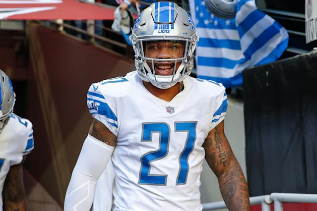 Safety Glover Quin announced on Tuesday that he's retiring from the NFL after 10 seasons with the Houston Texans and Detroit Lions. (Getty Images)