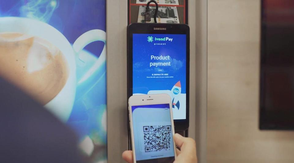 ivendpay cryptocurrency vending machine