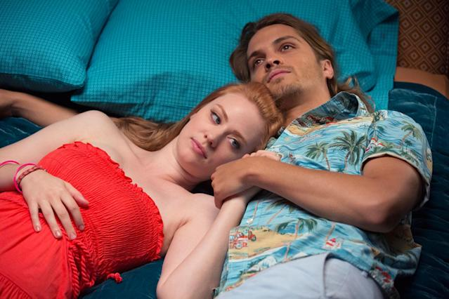 "Deborah Ann Woll and Luke Grimes in the ""True Blood"" Season 6 episode, ""Radioactive."""