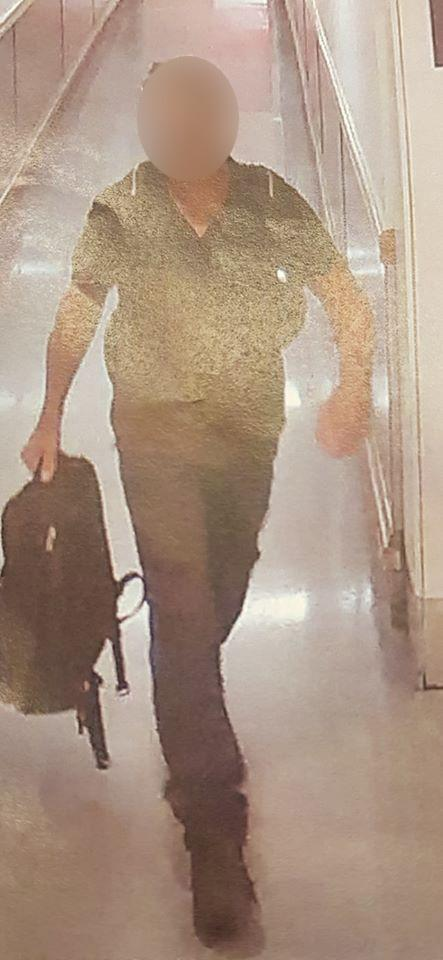 Police arrested this man in relation to the incident inside a supermarket on Tuesday. Source: NSW Police Force