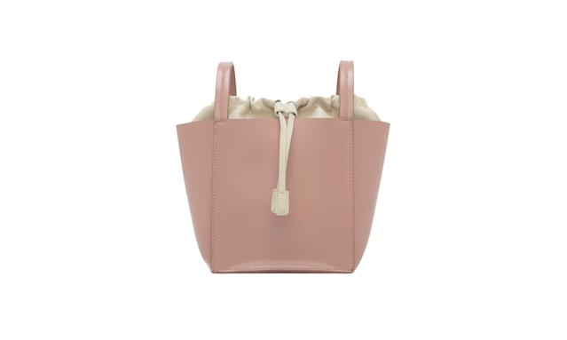 Blush pink bucket bag (Photo: Charles & Keith)