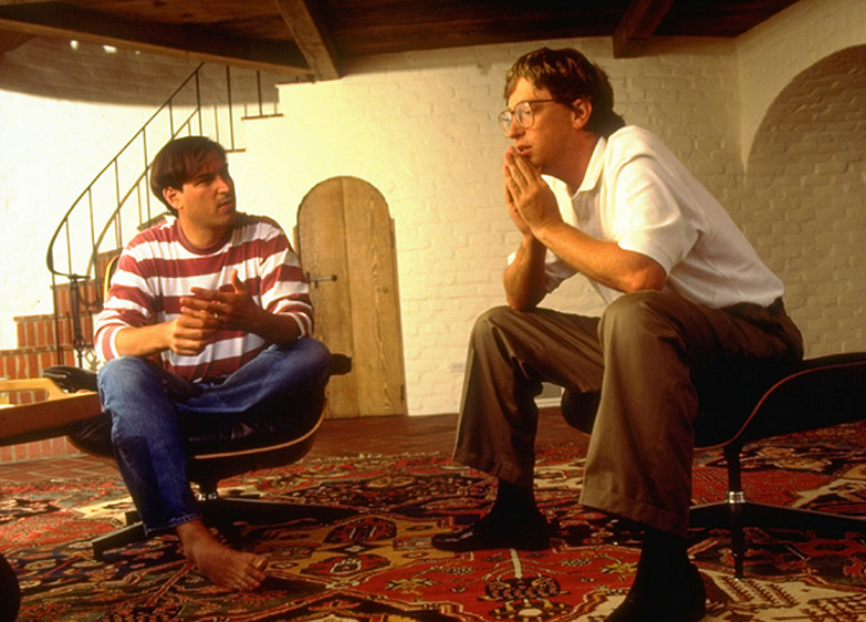 Steve Jobs Bill Gates