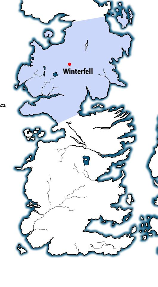 <p>Pretty straightforward – the North, a massive, dreary district from the Neck to the Wall, was a holdover from the First Men. </p><p>Those guys – the first humans on Westeros – took over the land in ancient times from the fairy-like Children of the Forest and were later invaded themselves by the Andals, though they kept their old traditions, like worshipping trees. </p><p>Torrhen Stark was their last king, till Robb Stark and later Jon Snow revived the tradition.</p>