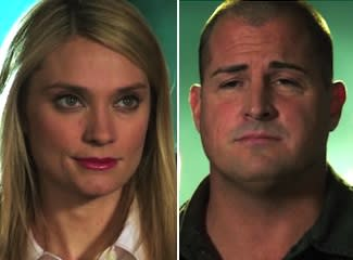 Exclusive CSI First Look: Spencer Grammer's Newshound Gets In Stokes' Face