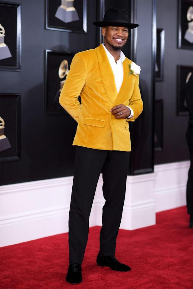<p>Ne-Yo attends the 60th Annual Grammy Awards in New York on Jan. 28, 2018. (Photo: John Shearer/Getty Images) </p>