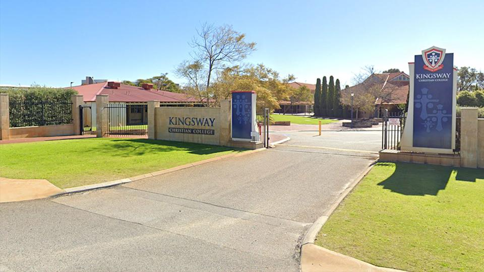 Kingsway Christian College in Perth. Source: Google Maps