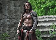 <b>Conan The Barbarian</b><br><br> <b>Starred:</b> Jason Momoa, Rose McGowan, Ron Perlman <b>Cost:</b> $90m (£57.6m) <b>Lost:</b> $41.2m (£26.3m) <br><br> The 'swords and sandals' genre has it tough. Either it really works, or it really doesn't. And if it doesn't, what you're left with is a bunch of people wearing the most ridiculous clothing imaginable talking about ludicrous made up nonsense in a most earnest way. With a loss like this at the box office, which camp do you reckon the remake of the 1982 Arnold Schwarzenegger film fell into?