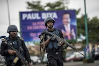 President Paul Biya's government has previously refused to negotiate with the separatist leaders (AFP Photo/MARCO LONGARI)
