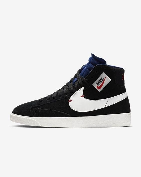 "Hightops are forever. Wear these with your favorite skater dresses. $100, Nike. <a rel=""nofollow"" href=""https://www.nike.com/t/blazer-mid-rebel-womens-shoe-qhprmh/BQ4022-005"">Get it now!</a>"