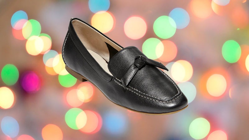 Save 55 percent on this pair of Cole Haan Caddie Bow Loafers. (Photo: Cole Haan)