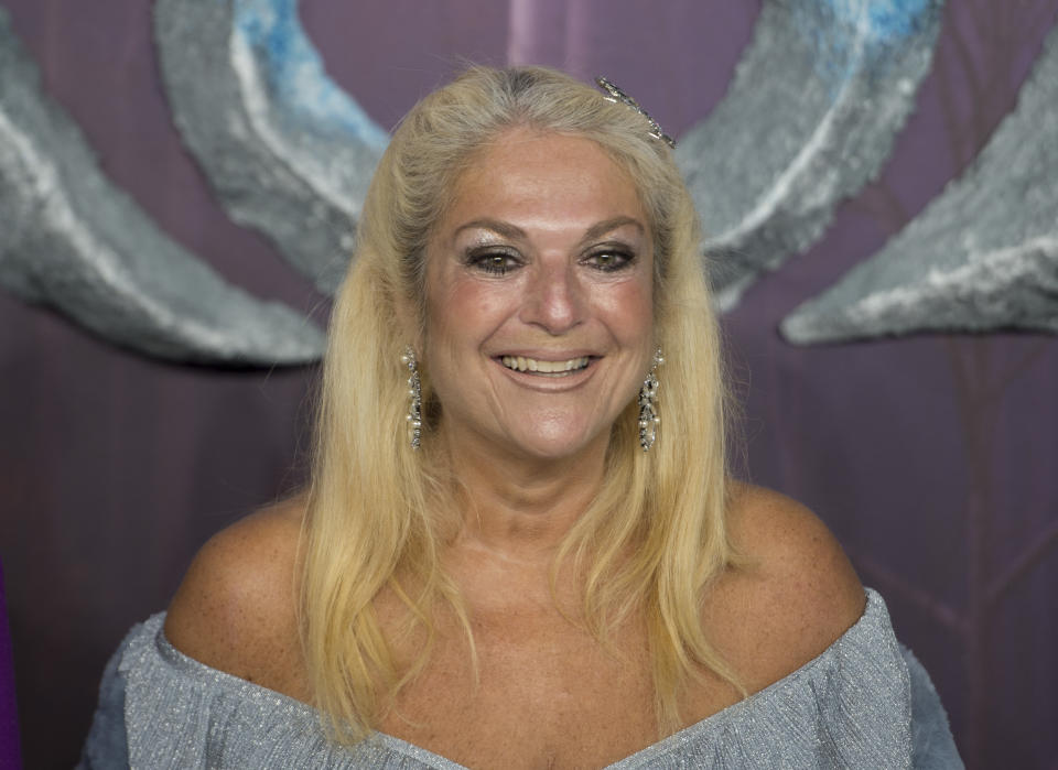 """LONDON, ENGLAND - NOVEMBER 17: Vanessa Feltz attends the """"Frozen 2"""" European premiere  at BFI Southbank on November 17, 2019 in London, England. (Photo by Stuart C. Wilson/Getty Images)"""