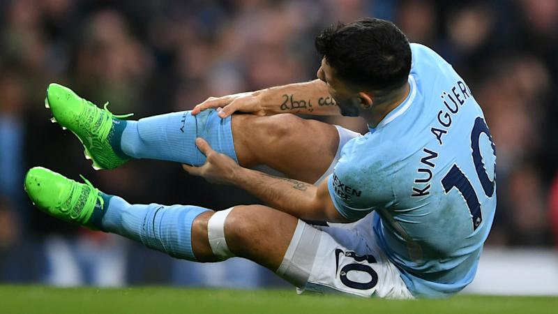 Aguero faces race to be fit for World Cup as knee surgery appears to end his season