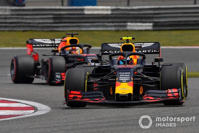"Red Bull 2019: Pierre Gasly, Max Verstappen <span class=""copyright"">Mark Sutton / Sutton Images</span>"