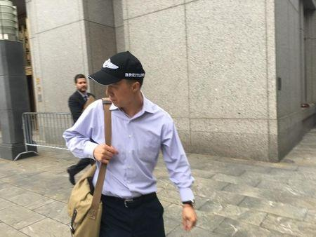 Kun Shan Chun, an FBI employee who pleaded guilty in federal court to having acted as an agent of the Chinese government, is pictured in New York City
