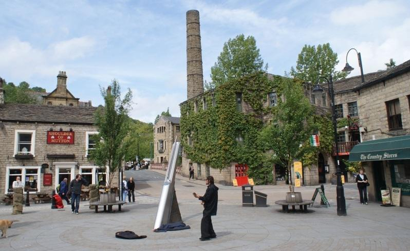 Yorkshire mill town weaves new life