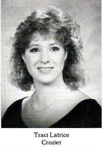 Traci Crozier's high school yearbook photo