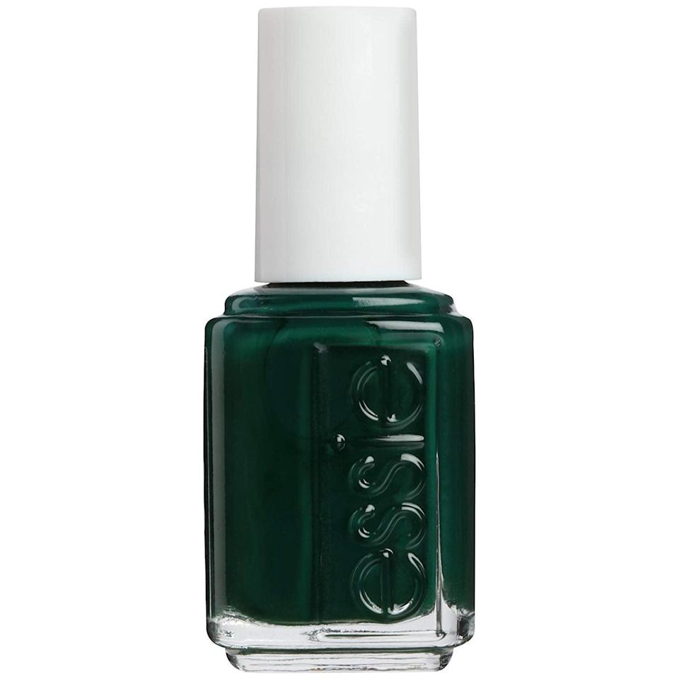 <p>Jewel tones like the <span>Essie Nail Polish in Off Tropic</span> ($9) will entice any manicure devotee.</p>