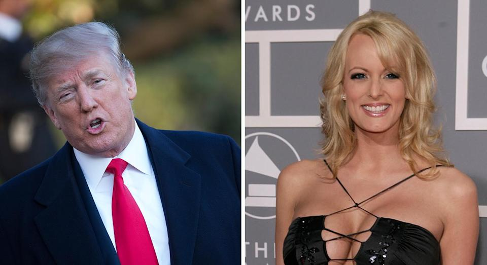 Stormy Daniels' allegations have rocked the White House (Getty Images)