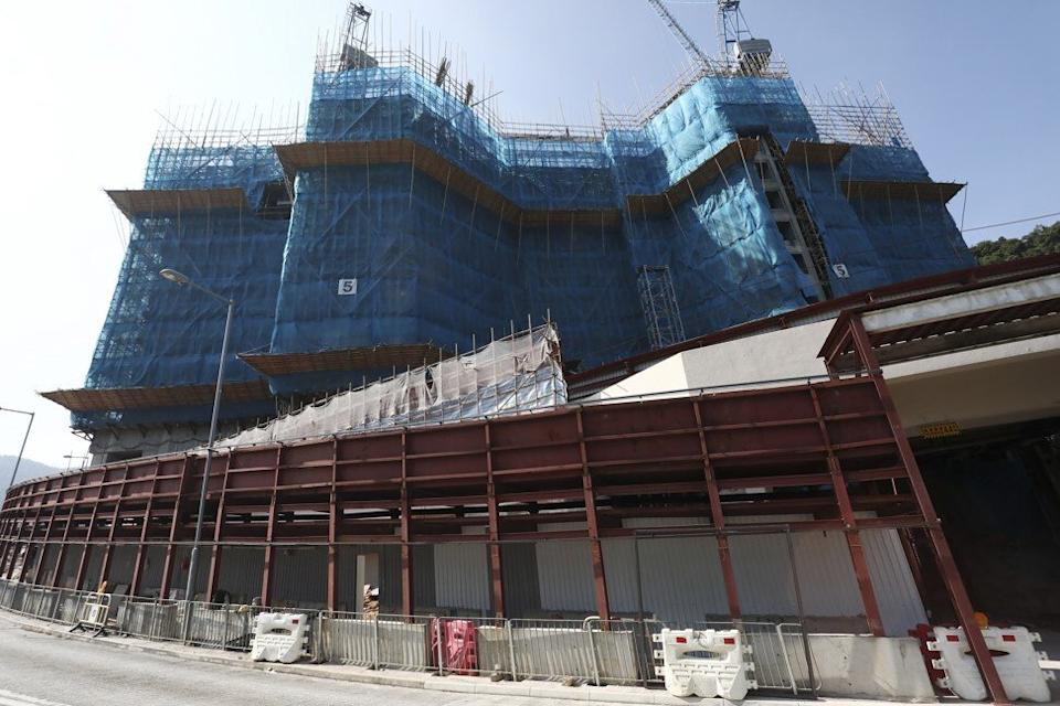 El Futuro development by CK Asset Holdings at 18 Lai Ping Road in Sha Tin district on October 21. Photo: Jonathan Wong