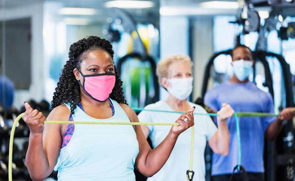 Fitness classes are back on the cards. (Photo: kali9 via Getty Images)