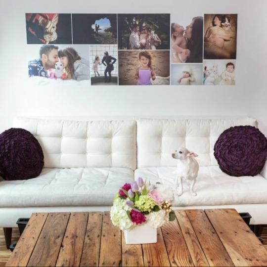 put those instagrams to good use create your own photo wallpaper. Black Bedroom Furniture Sets. Home Design Ideas