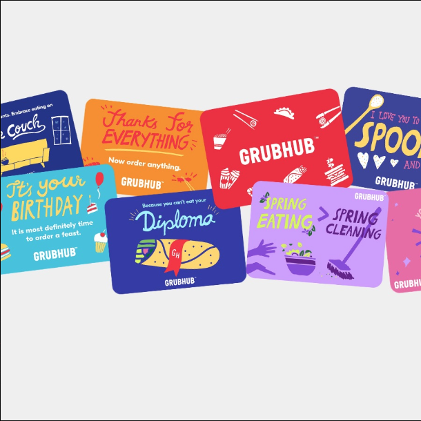 "<h3>GrubHub Gift Card</h3><br><br>The amount on the gift card is up to you, but the gift of not having to cook is priceless.<br><br><strong>Grubhub</strong> Gift Card, $, available at <a href=""https://go.skimresources.com/?id=30283X879131&url=https%3A%2F%2Fgrubhub.cashstar.com%2Fstore%2Fbuy%2Frecipient"" rel=""nofollow noopener"" target=""_blank"" data-ylk=""slk:Grubhub"" class=""link rapid-noclick-resp"">Grubhub</a>"