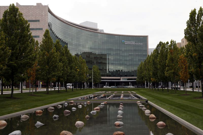 FILE PHOTO: he Cleveland Clinic medical center is seen in Cleveland