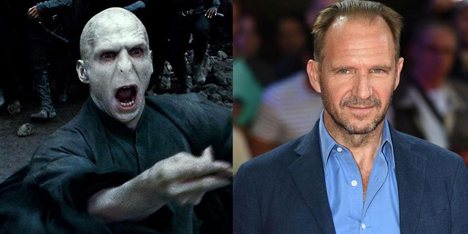 <p><strong>First Film: </strong><em>Harry Potter and the Goblet of Fire</em></p><p><strong>Character Played: </strong>Voldemort, Tom Riddle</p><p><strong>Age: </strong>57</p><p>The Tony-winning Fiennes had a celebrated career both before and after the <em>Harry Potter </em>films. ( Think: <em>Schindler's List, </em><em>The Grand Budapest Hotel</em>, <em>Maid in Manhattan).</em><strong><br></strong></p>