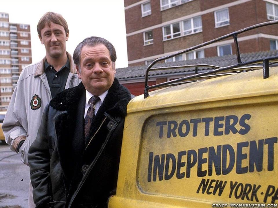 <p>Mange tout, Rodney: the new launch will have nods to classic British sitcom Only Fools and Horses</p> (BBC)
