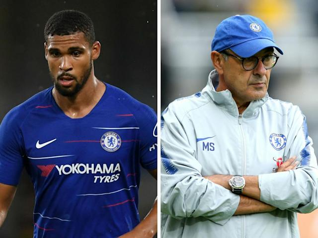 Ruben Loftus-Cheek is not happy at the chances he's received at Stamford Bridge so far this season