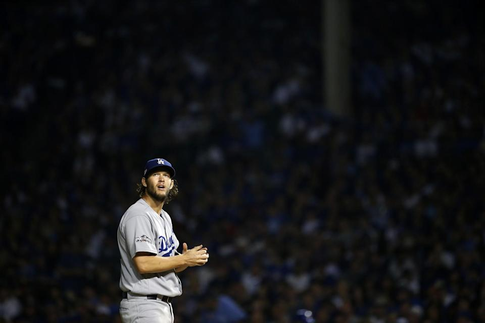 Clayton Kershaw joined some elite company with his fantastic Game 2 performance. (AP)