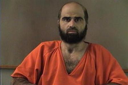 Bell County Sheriff's Office photograph of Nidal Hasan