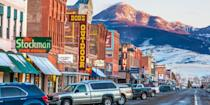"<p><strong>Best Western Town</strong></p><p>Livingston, 20 miles east of Bozeman, embodies the spirit of the Old West. Spend your days hiking, fly-fishing, and horseback riding amid Big Sky Country. Stay at the historic Murray Hotel, once frequented by Buffalo Bill and Calamity Jane, and dig in to a wood-fired oven pizza at <a href=""https://www.tripadvisor.com/Restaurant_Review-g45253-d3315182-Reviews-Gil_s_Goods-Livingston_Montana.html"" rel=""nofollow noopener"" target=""_blank"" data-ylk=""slk:Gil's Goods"" class=""link rapid-noclick-resp"">Gil's Goods</a>. </p><p><strong><em>Where to Stay: </em></strong><a href=""https://www.tripadvisor.com/Hotel_Review-g45253-d91303-Reviews-Yellowstone_Pioneer_Lodge-Livingston_Montana.html"" rel=""nofollow noopener"" target=""_blank"" data-ylk=""slk:Yellowstone Pioneer Lodge"" class=""link rapid-noclick-resp"">Yellowstone Pioneer Lodge</a>, <a href=""https://www.tripadvisor.com/Hotel_Review-g45253-d97237-Reviews-Murray_Hotel-Livingston_Montana.html"" rel=""nofollow noopener"" target=""_blank"" data-ylk=""slk:The Murray Hotel"" class=""link rapid-noclick-resp"">The Murray Hotel</a></p>"