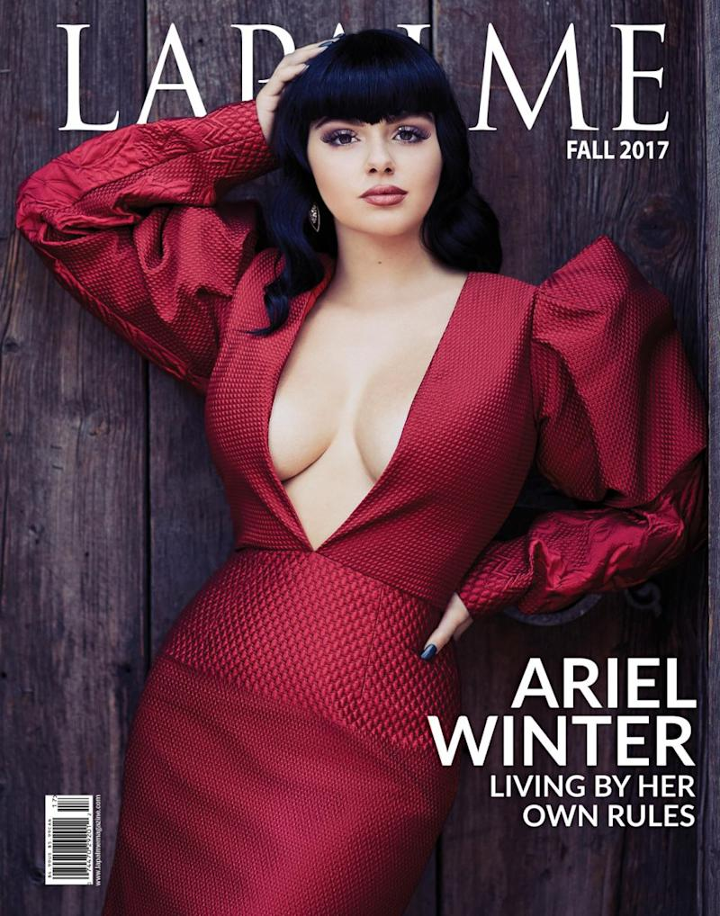 Ariel stuns in cover shoot for LaPalme magazine. Source: LaPalme
