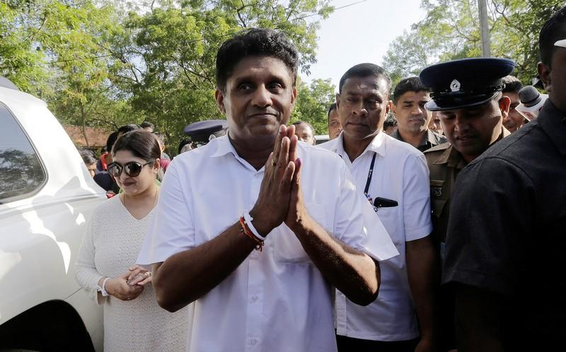 Sri Lanka's Premadasa accepts defeat at presidential poll; steps down from party position
