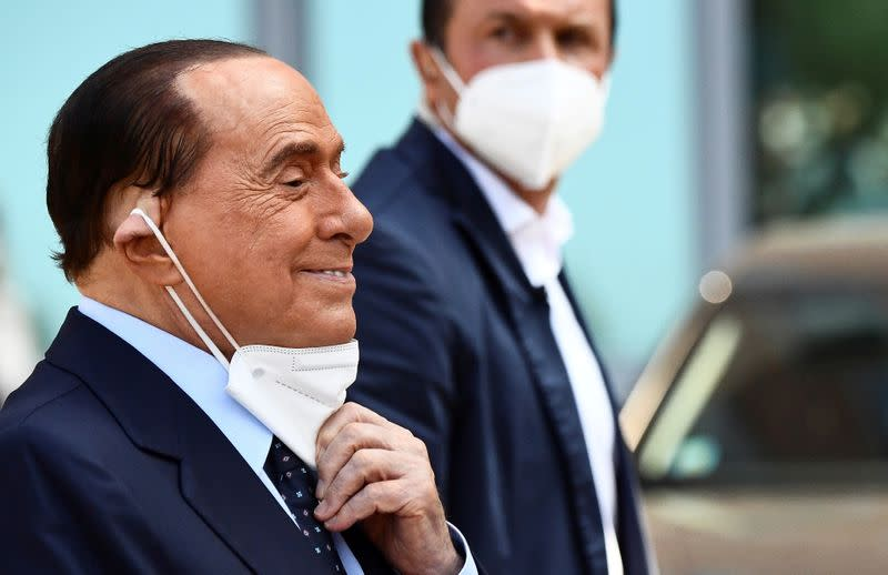 Italy's former PM Berlusconi recovers from COVID-19 - source