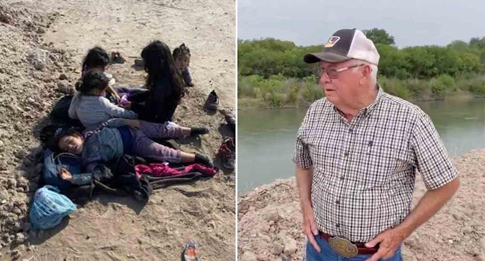 The group of girls were reportedly found by 75-year-old Texas man Jimmy Hobbs