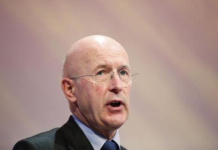 Chairman of RBS Philip Hampton speaks at the annual CBI conference in central London