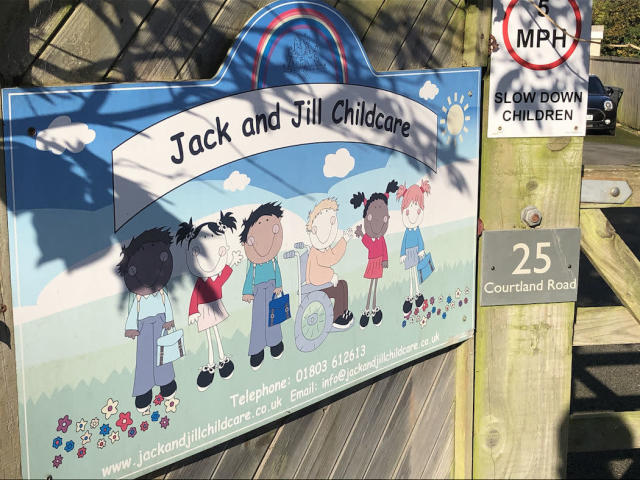A member of staff at Jack and Jill Childcare nursery in Torquay, Devon, has been arrested (Picture: PA)